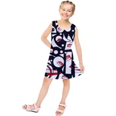Happy life - red Kids  Tunic Dress