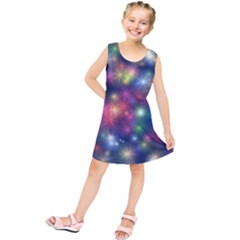 Abstract Background Graphic Design Kids  Tunic Dress