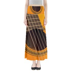 Vintage Guitar Acustic Maxi Skirts