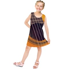 Vintage Guitar Acustic Kids  Tunic Dress
