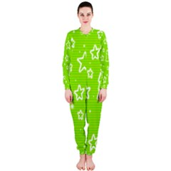 Green Christmas OnePiece Jumpsuit (Ladies)