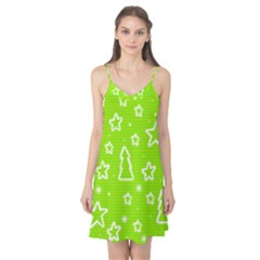 Green Christmas Camis Nightgown