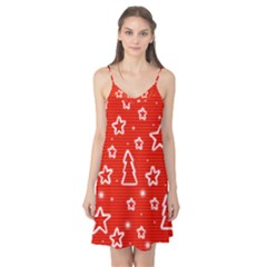 Red Xmas Camis Nightgown