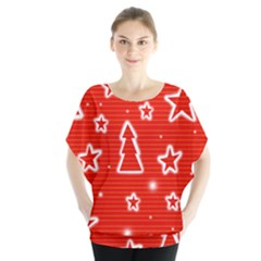 Red Xmas Blouse