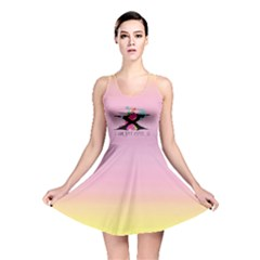 UNICORN - I AM NOT CUTE  Reversible Skater Dress