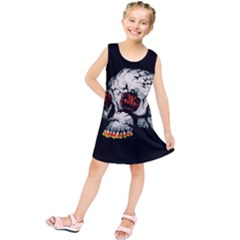Halloween Skull Kids  Tunic Dress