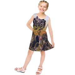 Abstract Digital Art  Kids  Tunic Dress