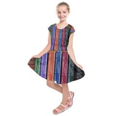 Books Reading Series Narnia Kids  Short Sleeve Dress