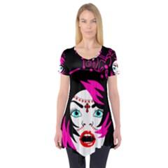 Vampire Gypsy Princess Short Sleeve Tunic
