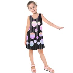 Pink elegance  Kids  Sleeveless Dress