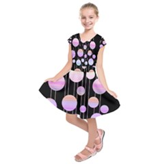 Pink elegance  Kids  Short Sleeve Dress