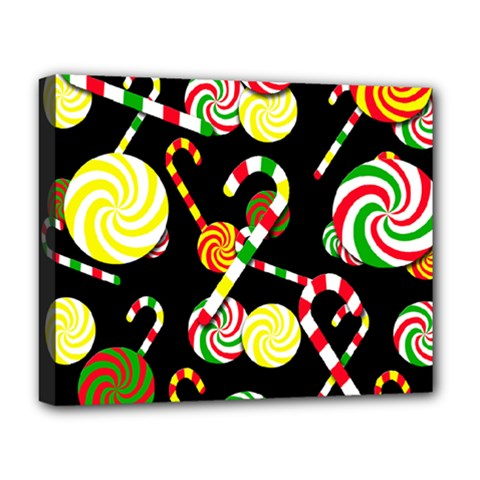 Xmas candies  Deluxe Canvas 20  x 16