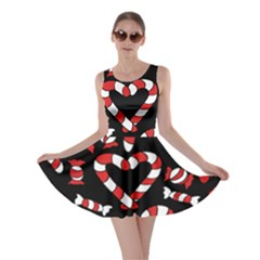 Christmas Candy Canes  Skater Dress