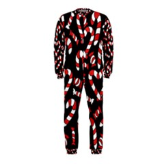 Christmas Candy Canes  OnePiece Jumpsuit (Kids)