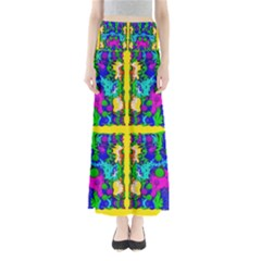 Shimmering Landscape Abstracte Maxi Skirts