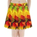 Indian Summer Cubes Pleated Mini Skirt View1