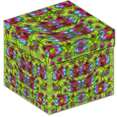 Freedom In Colors And Floral Storage Stool 12