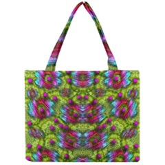 Freedom In Colors And Floral Mini Tote Bag