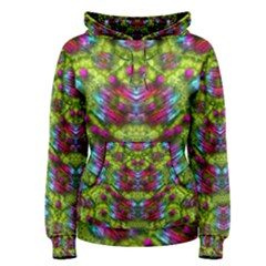 Freedom In Colors And Floral Women s Pullover Hoodie