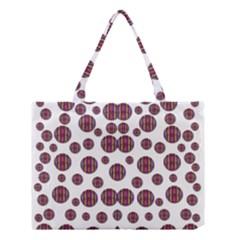 Shimmering Polka Dots Medium Tote Bag