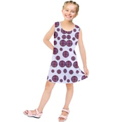 Shimmering Polka Dots Kids  Tunic Dress
