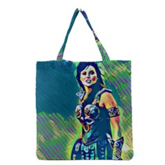 Warrior Princess 1 Grocery Tote Bag