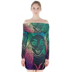 Img 20160704 210131 Long Sleeve Off Shoulder Dress