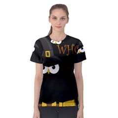 Who is a witch? Women s Sport Mesh Tee
