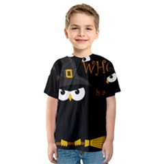 Who is a witch? Kids  Sport Mesh Tee