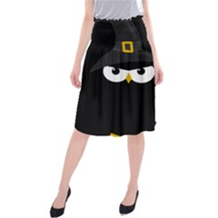 Who Is A Witch? Midi Beach Skirt