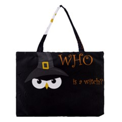 Who Is A Witch? Medium Tote Bag