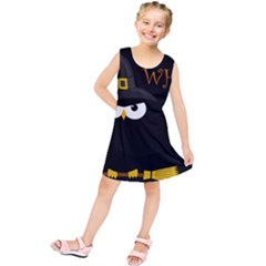 Who Is A Witch? Kids  Tunic Dress