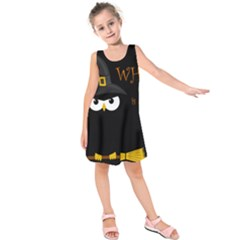 Who is a witch? Kids  Sleeveless Dress
