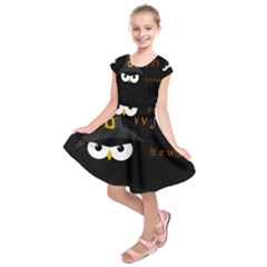 Who is a witch? Kids  Short Sleeve Dress