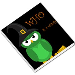 Who Is A Witch?   Green Small Memo Pads