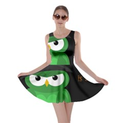 Who is a witch? - green Skater Dress