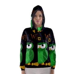 Who is a witch? - green Hooded Wind Breaker (Women)