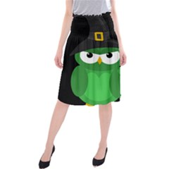Who Is A Witch?   Green Midi Beach Skirt