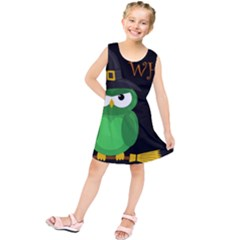 Who is a witch? - green Kids  Tunic Dress