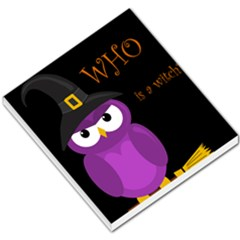 Who is a witch? - purple Small Memo Pads