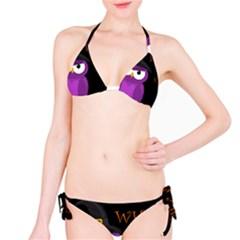 Who is a witch? - purple Bikini Set