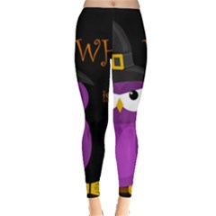 Who is a witch? - purple Leggings