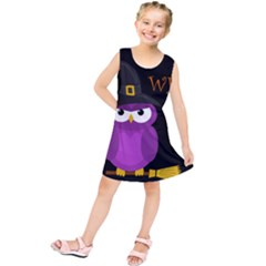 Who Is A Witch?   Purple Kids  Tunic Dress
