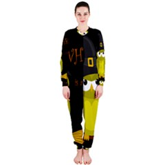 Who is a witch? - yellow OnePiece Jumpsuit (Ladies)