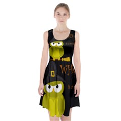 Who is a witch? - yellow Racerback Midi Dress
