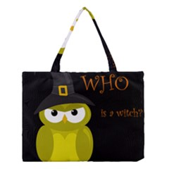 Who is a witch? - yellow Medium Tote Bag