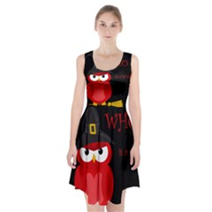 Who is a witch? - red Racerback Midi Dress