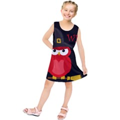 Who Is A Witch?   Red Kids  Tunic Dress