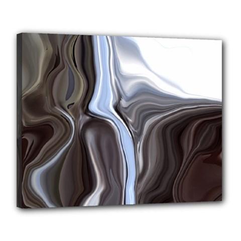 Metallic and Chrome Canvas 20  x 16