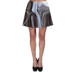 Metallic and Chrome Skater Skirt